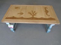 Table basse animaux