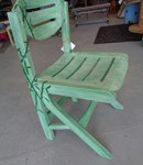 Chaise bambou